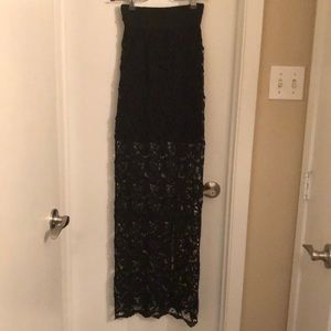 Dresses & Skirts - Maxi back laced skirt